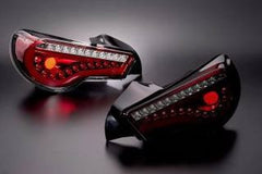 DazzFellows 86BRZ Tail Lights (Clear/Red)