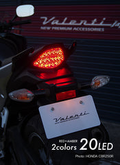 CBR 125R 2011~ Chrome Tail Lamp