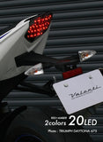Street Triple R 2014~ Smoked Tail Lamp