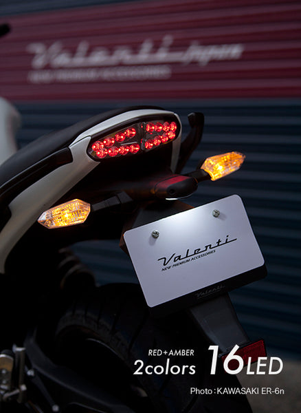 Ninja 650R 2009-2011: Chrome Tail Lamp