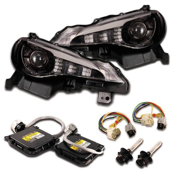 Valenti HID Headlight GT Package (Black)