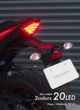 MT07 2014~ Chrome Tail Lamp