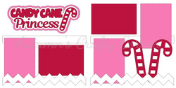Candy Cane Princess - Die Cut Kit