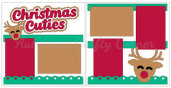 Christmas Cuties - Scrapbook Page Kit