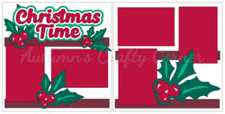 Christmas Time - Scrapbook Page Kit