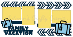 Family Vacation - Die Cut Kit