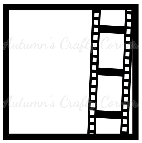 Film - Vertical - Scrapbook Page Overlay Die Cut
