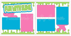 Fun with Slime - Scrapbook Page Kit