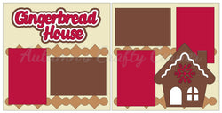 Gingerbread House - Christmas - Scrapbook Page Kit