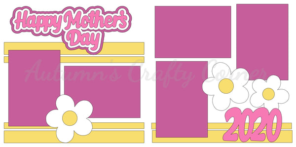 Happy Mother's Day 2020  - Die Cut Kit