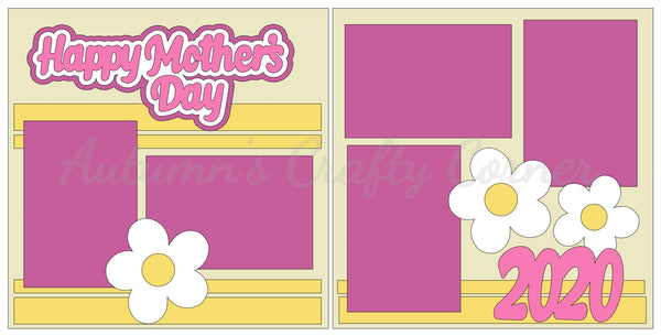 Happy Mother's Day 2020  - Scrapbook Page Kit
