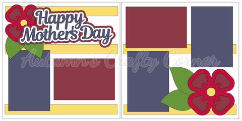 Happy Mother's Day - Scrapbook Page Kit