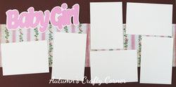 Baby Girl - Scrapbook Page Kit - CLEARANCE