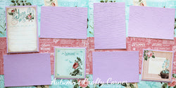 June - Scrapbook Page Kit - CLEARANCE