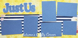 Just Us - Scrapbook Page Kit - CLEARANCE