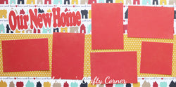 Our New Home - Scrapbook Page Kit - CLEARANCE
