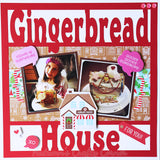 Gingerbread House - Scrapbook Page Overlay Die Cut - Choose a Color