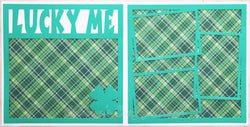 Lucky Me - Scrapbook Page Kit
