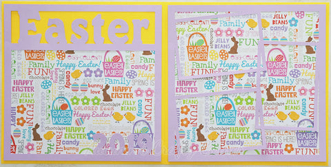 Easter 2019 - Scrapbook Page Kit