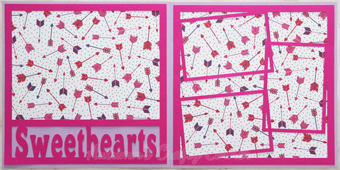 Sweethearts - Scrapbook Page Kit