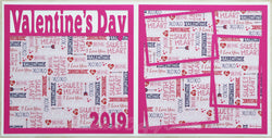 Valentine's Day 2019 - Scrapbook Page Kit