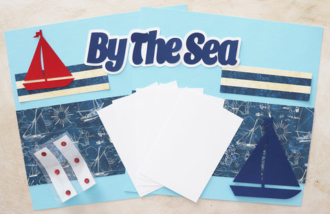 By the Sea - Scrapbook Page Kit