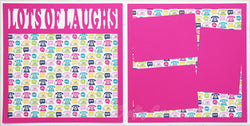 Lots of Laughs - Scrapbook Page Kit