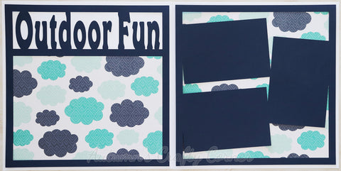 Outdoor Fun - Scrapbook Page Kit