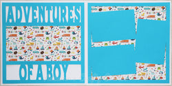 Adventures of a Boy - Scrapbook Page Kit