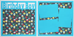 Birthday Boy - Scrapbook Page Kit