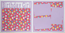 Birthday Girl - Scrapbook Page Kit