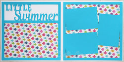 Little Swimmer - Scrapbook Page Kit