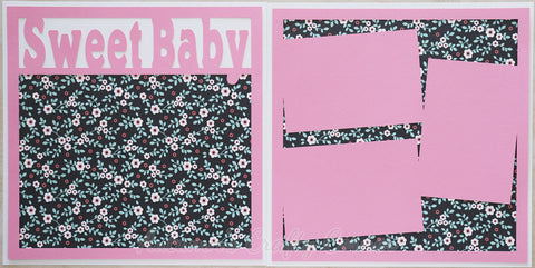Sweet Baby - Scrapbook Page Kit