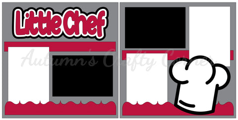 Little Chef - Scrapbook Page Kit