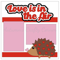 Love is in the Air - Single Scrapbook Page Kit