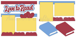 Love to Read - Die Cut Kit