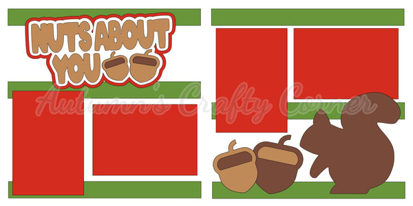 Nuts About You  - Die Cut Kit