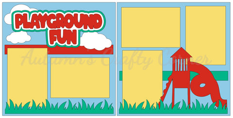 Playground Fun - Scrapbook Page Kit