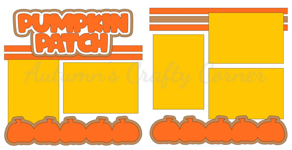 Pumpkin Patch  - Die Cut Kit