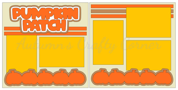 Pumpkin Patch  - Scrapbook Page Kit