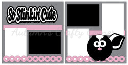 So Stinkin Cute - Scrapbook Page Kit