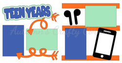 Teen Years - Boy - Die Cut Kit