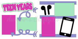 Teen Years - Girl - Die Cut Kit