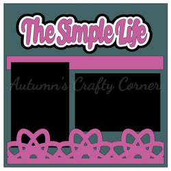 The Simple Life - Single Scrapbook Page Kit