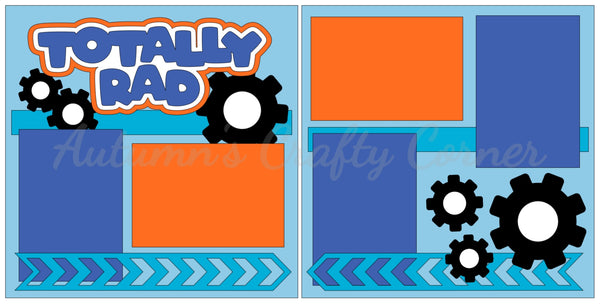 Totally Rad - Scrapbook Page Kit