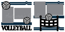Volleyball - Die Cut Kit