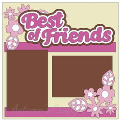 Best of Friends - Single Scrapbook Page Kit
