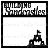 Building Sandcastles - Scrapbook Page Overlay Die Cut - Choose a Color