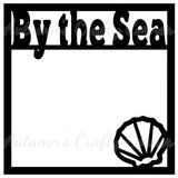 By the Sea - Scrapbook Page Overlay Die Cut - Choose a Color