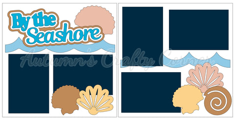 By the Seashore - Scrapbook Page Kit